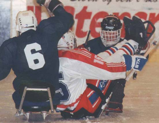 Sled Hockey GB v USA © Phil Gee